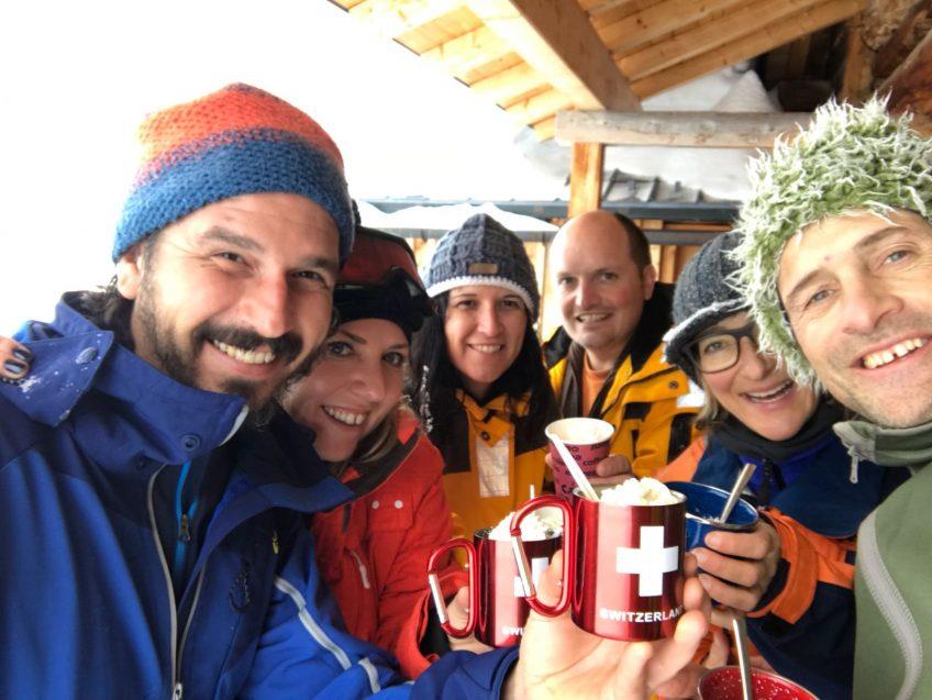 Sylvester 2017/2018 – Schneeschuhlaufen im Prättigau