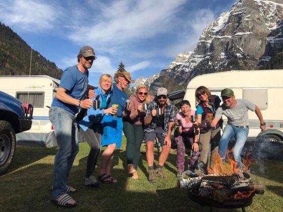 Ostern 2019 – soft season opening am Klöntaler See – Camping Vorauen
